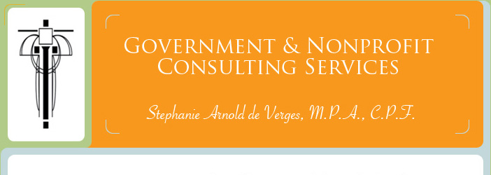 government and nonprofit consulting services